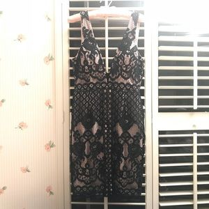 NWT Crochet Bodycon Dress